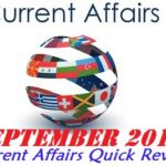<b>Current Affairs for CLAT</b>: September 2016