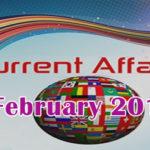 <b>Current Affairs for CLAT</b> 2017 : February 2017