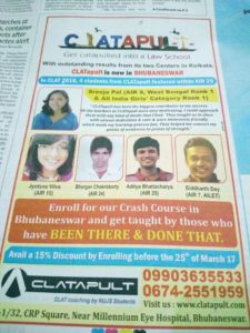 CLATapult on the Times of India