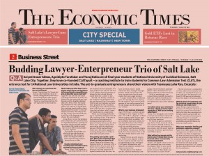 CLATapult, law coaching by nlu grads, economic times coverage