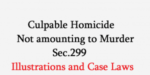difference between murder and culpable homicide