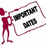 <B>General Knowledge for CLAT</B>: Important Dates